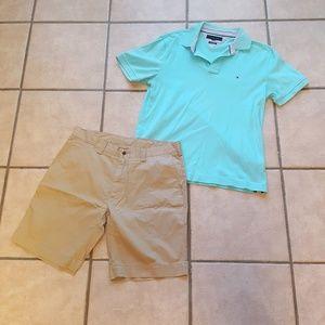 Like new! Men's Ralph Lauren khaki shorts 34 inch